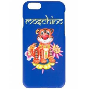 Moschino WOMEN'S A790683051299 BLUE PLASTIC COVER