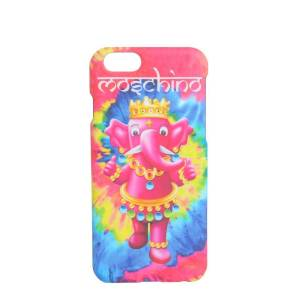 Moschino WOMEN'S A790883051888 PINK ACRYLIC COVER