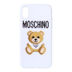 Moschino WOMEN'S 797783511002 WHITE POLYURETHANE COVER