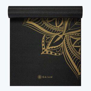 Gaiam Premium Metallic Medallion Yoga Mat (6mm)