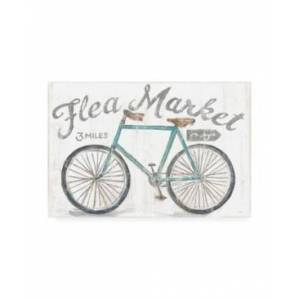 "Trademark Global Sue Schlabach White Barn Flea Market I Canvas Art - 15.5"" x 21""  - Multi"