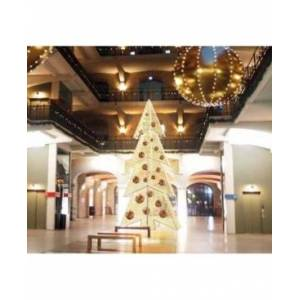 Northlight Pre-Lit Giant Commercial Grade Led Waterloo Christmas Tree  - White