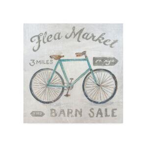 "Trademark Global Sue Schlabach White Barn Flea Market Iv Canvas Art - 15.5"" x 21""  - Multi"