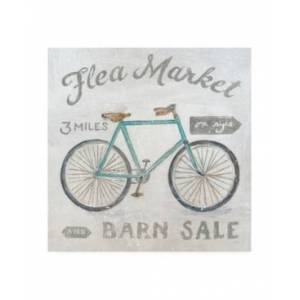 "Trademark Global Sue Schlabach White Barn Flea Market Iv Canvas Art - 19.5"" x 26""  - Multi"