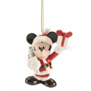 Lenox 2019 Merry Mickey Ornament  - Ivory