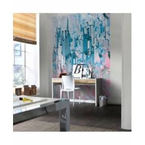 Brewster Home Fashions Duplex Wall Mural