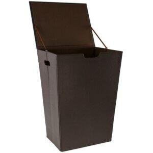 Nameeks Alianto Rectangular Laundry Basket Bedding  - Wenge