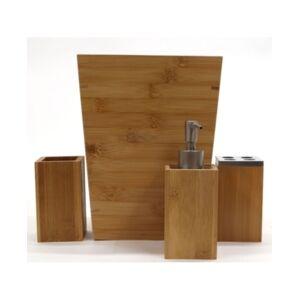 Redmon Since Redmon Bamboo 4 Piece Bathroom Accessory Set Bedding