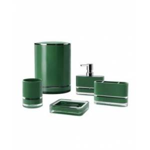 Immanuel Float 5 Piece Bathroom Accessory Set Bedding  - Green