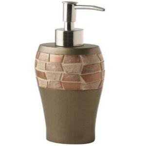 Popular Bath Mosaic Lotion Pump Bedding  - Bronze