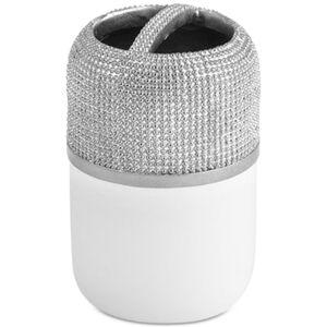 Popular Bath Horizon Toothbrush Holder Bedding  - Silver-white