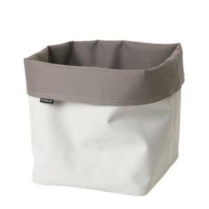 blomus Storage Basket Reversible Canvas Xl Bedding  - Medium Grey