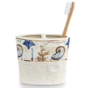 Avanti Antigua Toothbrush Holder Bedding  - Ivory