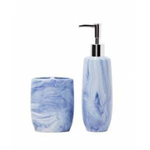 Saturday Knight Ltd. Tuscan Lotion Dispenser Bedding  - Blue