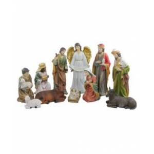 """Northlight 11-Pc. Traditional Religious Christmas Nativity Set with Removable Baby Jesus 19.5""""  - Multi"""