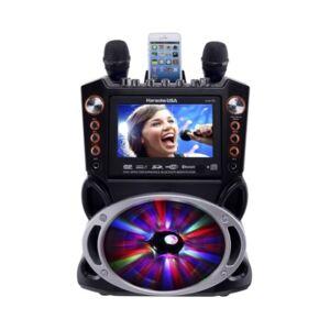 Karaoke Usa GF846 Dvd/Cdg/Mp3G Machine  - Black
