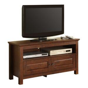 "Walker Edison 44"" Wood Tv Media Stand Storage Console  - Brown"