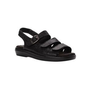 Propet Women's Breeze Walking Sandal Women's Shoes  - Black