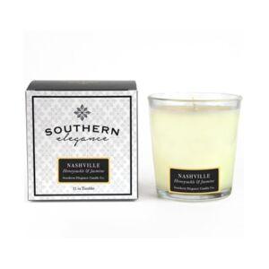 Southern Elegance Candle Company Nashville Honeysuckle and Jasmine Tumbler, 11 oz