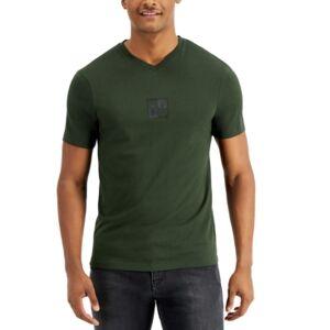 AX Armani Exchange Men's Slight V-Neck T-Shirt  - Rosin