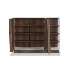 Furniture Of America Vega Modern Shoe Cabinet  - White