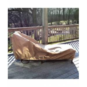Blue Wave All-Weather Protective Cover For Single Chaise Lounge  - Brown