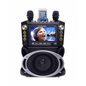 Karaoke Usa GF844 Dvd/Cdg/Mp3G Machine  - Black