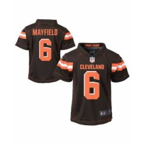 Nike Little Boys Baker Mayfield Cleveland Browns Game Jersey  - Brown