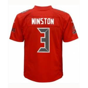 Nike Jameis Winston Tampa Bay Buccaneers Color Rush Jersey, Big Boys (8-20)  - Red