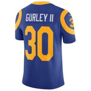 Nike Men's Todd Gurley Los Angeles Rams Vapor Untouchable Limited Jersey  - RoyalBlue