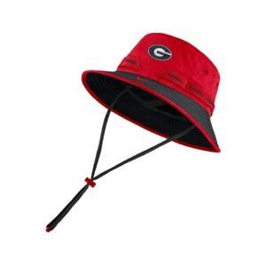 Nike Georgia Bulldogs Sideline Bucket  - Red/Black