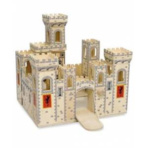 Melissa and Doug Kids Toys, Folding Medieval Castle