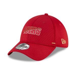 New Era Men's San Francisco 49ers 2020 Training 39THIRTY Cap  - Red