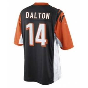 Nike Kids' Andy Dalton Cincinnati Bengals Limited Jersey, Big Boys (8-20)  - Black