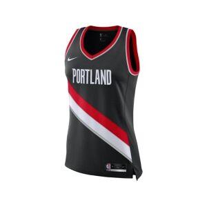 Nike Portland Trail Blazers Nba Women's Swingman Jersey Damian Lillard  - Black