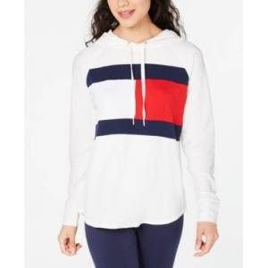 Tommy Hilfiger Sport Colorblock Lightweight Flag T-shirt  - White
