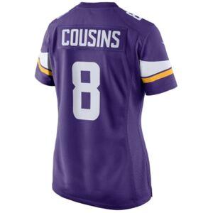 Nike Women's Kirk Cousins Minnesota Vikings Game Jersey  - Purple