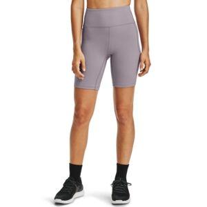 Under Armour Women's Meridian Bike Shorts  - Slate Purple / / Metallic Silver