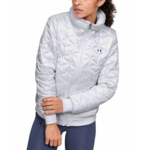 Under Armour Women's ColdGear Reactor Performance Jacket  - White