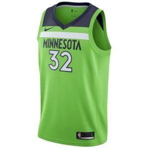 Nike Men's Karl-Anthony Towns Minnesota Timberwolves Statement Swingman Jersey  - Green