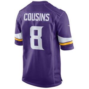 Nike Men's Kirk Cousins Minnesota Vikings Game Jersey  - Purple