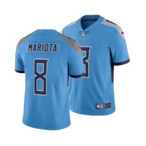 Nike Men's Marcus Mariota Tennessee Titans Vapor Untouchable Limited Jersey  - LightBlue