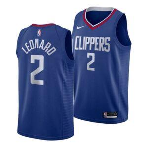Nike Men's Kawhi Leonard Los Angeles Clippers Icon Swingman Jersey  - Blue