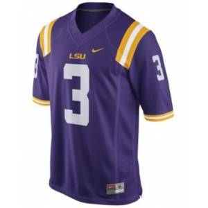 Nike Men's Odell Beckham Jr. Lsu Tigers Player Game Jersey  - Purple