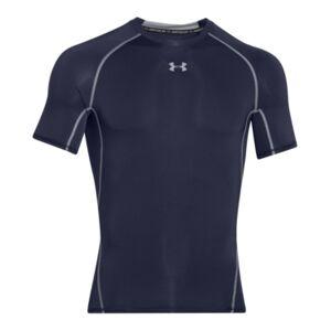 Under Armour Men's HeatGear Armour Short Sleeve Compression Shirt  - Midnight Navy/steel