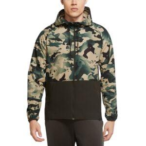 Nike Men's Dri-fit Flex Camo Jacket  - Sequoia Green