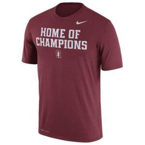 Nike Men's Stanford Cardinal Legend Verbiage T-Shirt  - Crimson