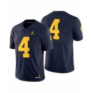 Nike Men's Michigan Wolverines Football Replica Game Jersey  - Navy