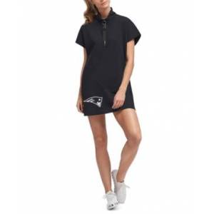 Dkny Women's New England Patriots Donna Dress  - Black
