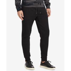 Ralph Lauren Polo Ralph Lauren Men's Big & Tall Double-Knit Joggers Pants  - Black